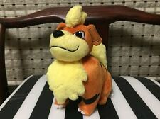 "2017 Pokemon ARCANINE Growlithe Exclusive TOMY 7""  Plush Toy Gift"