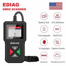 Automotive OBD2 OBDII Scanner Check Car Engine Fault Diagnostic Tool Code Reader