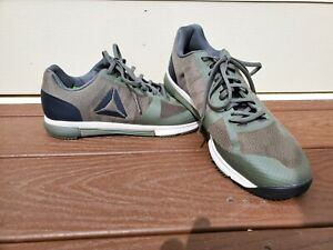 Reebok Men's Crossfit Speed TR 2.0 Trainer Shoes Fatigue Green Size 9.5M