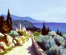 "Joanny! ""Mediterranean"" Limited Edition Giclee on Canvas, W/COA"