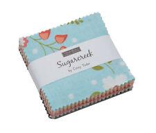 "Sugarcreek Moda Mini Charm Pack 42 100% Cotton 2.5"" Precut Quilt Squares"