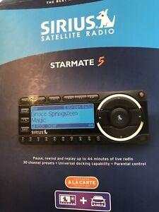 Starmate 5 Sirius Stellite Radio Complete Vehicle Radio Kit