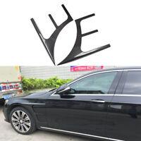 für Mercedes W213 E-Klasse Kotflügel Flossen Flaps Carbon Side Door Fender Vent
