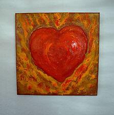 """Geschenk  zu Ostern Weihnachten Valentinstag Muttertag Herz """"Flammendes Herz"""""""