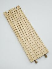"""Thomas Train Wooden Railway Rare Clickity Clack 12"""" Double wide Track"""