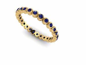 NEW 14 kt Gold Handmade Natural Untreated Sapphire Gemstone Handmade women Ring