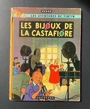 Les aventures de Tintin. Les bijoux de la castafiore.Casterman 1963 EO Francaise