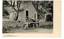 Bradley Ny - Post Office Building - Postcard Catskills btw Neversink/Liberty
