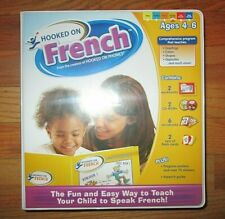 Hooked On Phonics French Home School Box Set Flashcards Books Software Charts