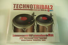 TECHNOTRIBAL2 MIXE PAR MAX DE FUN RADIO. CD NEUF EMBALLE.