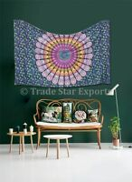 Indian Mandala Tapestries Hippie Wall Hanging Cotton Bedspread Bohemian Tapestry