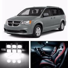 9x LED Xenon White Light Interior Package Kit for Dodge Grand Caravan 2008-2015