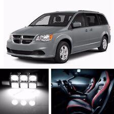 9x LED Xenon White Light Interior Package Kit for Dodge Grand Caravan 2008-2015
