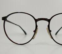 Vintage Cottet Round Sunglasses Eyeglasses Frames France Panto Keyhole Glasses