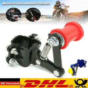 Universal Motorrad Fahrrad Kettenspanner Alu Einstellbar Spanner Chain Tensioner