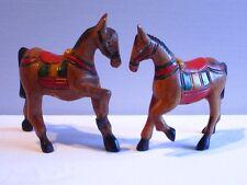 Chevaux sculpté en bois de Suar - cheval