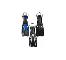 New Mares Volo Power Scuba Diving Fins - Black (Size Regular 9-11)