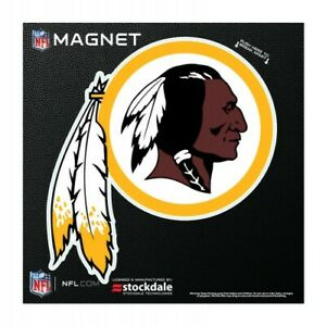 """WASHINGTON REDSKINS 6""""X6"""" DIE-CUT MAGNET FOR INDOOR OR OUTDOOR USE HEAVY DUTY"""