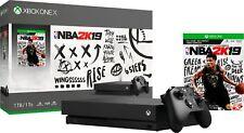 Microsoft - Xbox One X 1TB NBA 2K19 Bundle with 4K Ultra HD Blu-ray - Black