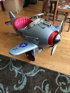 airflow collectibles, Pursuit pedal plane