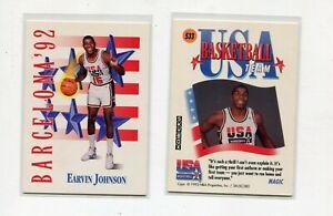 MAGIC JOHNSON LOS ANGELES LAKERS 1992 SKYBOX #533 BASKETBALL CARD