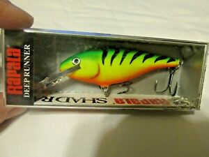 # F214, NEW IN PKG. RAPALA SHAD RAP SR-7 FT FISHING LURE