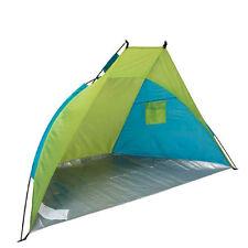 Tilltoo Beach Shelter Tenda Blu/Verde Protezione Solare Upf 40