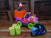 Imaginext The Joker Surprise Car Truck with Bamtan + Accessories