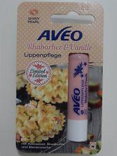 Aveo Lippenpflege Stift Rhabarber & Vanille Shiny Pearl Limited Edition 4,8 g