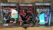 DC New 52 Futures End #1 Diamond Retailer Sketch Fan Expo And Reg Cover 9.6 CGC