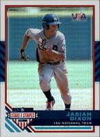 2017 USA Baseball Stars and Stripes Longevity Holofoil #54 Jasiah Dixon RC 68/99