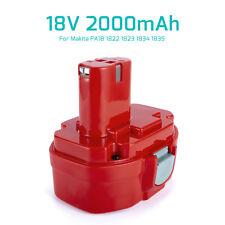 2.0Ah Ni-CD Battery for Makita PA18 1822 1823 1834 8391D 18 Volt Cordless Drill