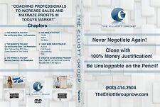 Car Sales Training DVD: Never Negotiate Again! Close With 100% Money Justifi...