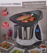 Gourmetmaxx Thermo Multikocher 9in1 Koch & Mixfunktion 1500W