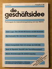Geschäftsidee II-88 - Rentrop - Bio-Fachmarkt - Daten-Lager EDV - Anzeigenblatt
