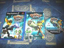 PS2 : RATCHET & CLANK 2 : FUOCO A VOLONTA' - Completo, ITA ! Prima stampa!