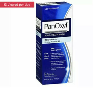 PanOxyl Acne Creamy Wash Daily Control 6 Oz  by Panoxyl