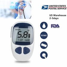 USA Handheld Blood Glucose Monitor Diabetes Test Meter With 50 FREE test strips