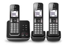 Panasonic KXTGD323ALB 3 Handset Cordless Phone Answer Machine & Speaker Phone