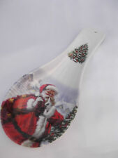 Christams SANTA WHISPER Melamine Kitchen Spoon Rest