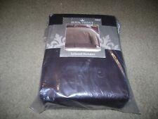King Size Tailored Bed Skirt Royal Velvet Dark Brown/Chocolate Egyptian Cotton