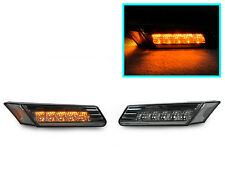 DEPO Smoke Amber LED Bumper Side Marker Light For 2005-2008 Boxster Cayman 987