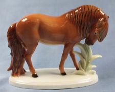 pferd Volkstedt figur pferdefigur porzellanfigur figurine islandpferd ast
