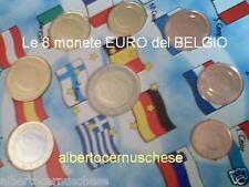 2000 BELGIO 8 monete 3,88 EURO fdc UNC belgique belgien belgica Belgium België