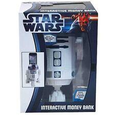 """STAR WARS ~ R2-D2 8"""" Interactive Money Bank (Zeon Ltd.) #NEW"""