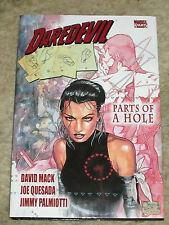 MARVEL COMICS;  DAREDEVIL HARDCOVER   AUTOGRAPGED BY JIMMY PALMIOTTI  LOOK!!!!!