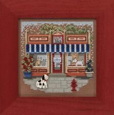 10% Off Mill Hill Spring Series Main Street X-stitch/Bead Kit-Pet Shoppe