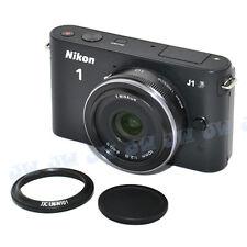 JJC Lens Hood & Hood Cap as Nikon HN-N101 & HC-N101 For 1 Nikkor 10mm f/2.8 Lens