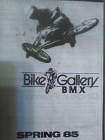 1985 Bike Gallery BMX / Freestyle Catalog Old School BMX GT Hutch CW Redline JMC