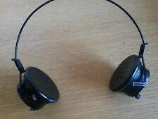 PAIR VINTAGE RADIO OPERATORS BAKELITE HEADPHONES  HEADSET -  PX- C -LR